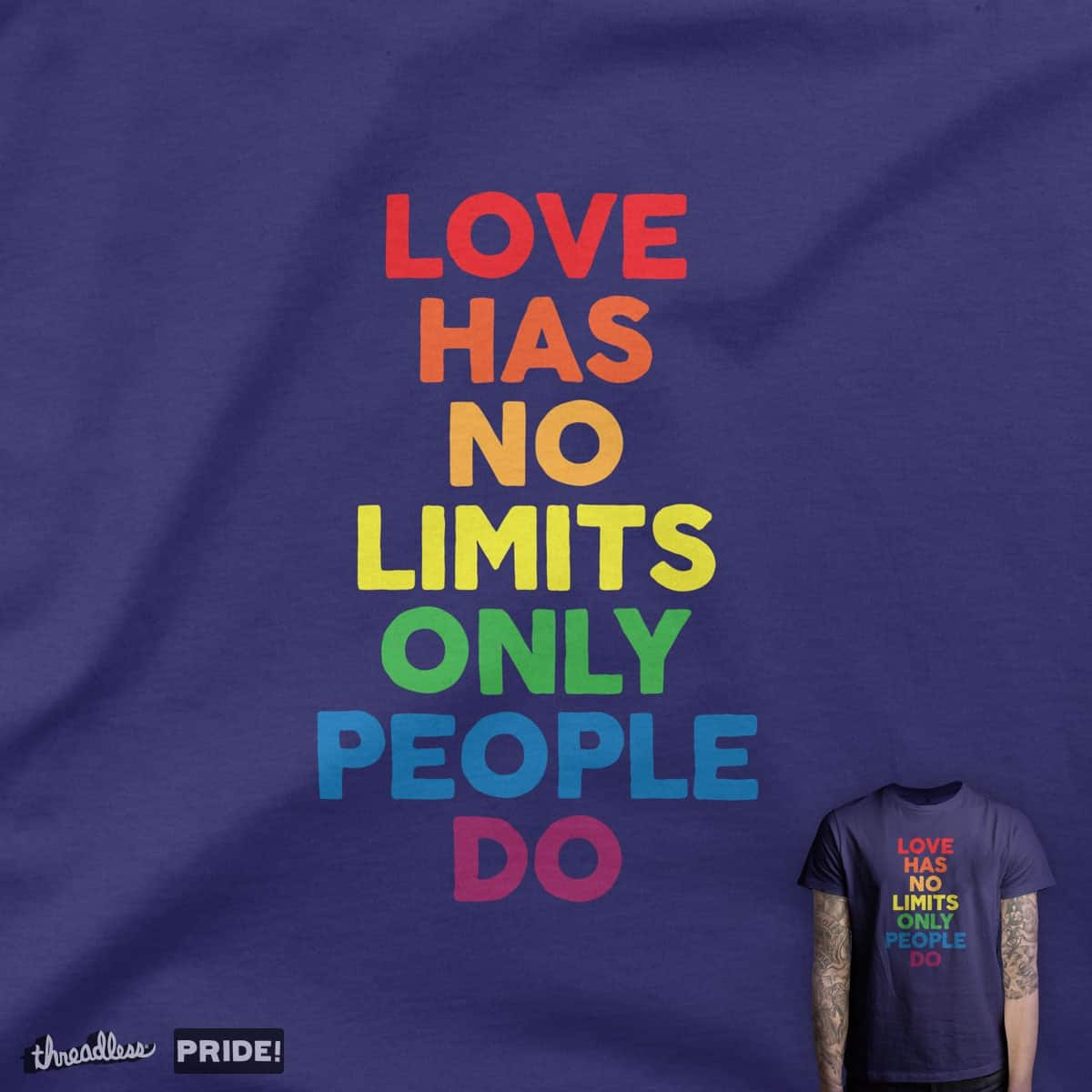 No Limits by quick-brown-fox on Threadless
