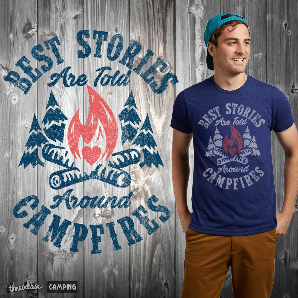 Campfire Stories by MackStudios on Threadless