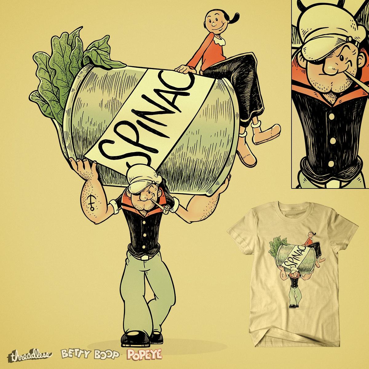 Popeye and Betty Boop. Shop the winning designs! | Threadless