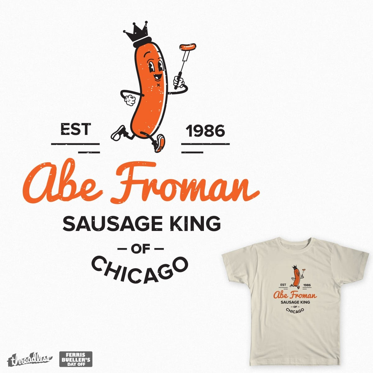 Abe Froman's Logo by robthebarber7 on Threadless