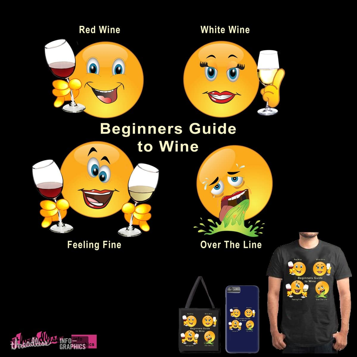 Wine guide by digitalswirl on Threadless