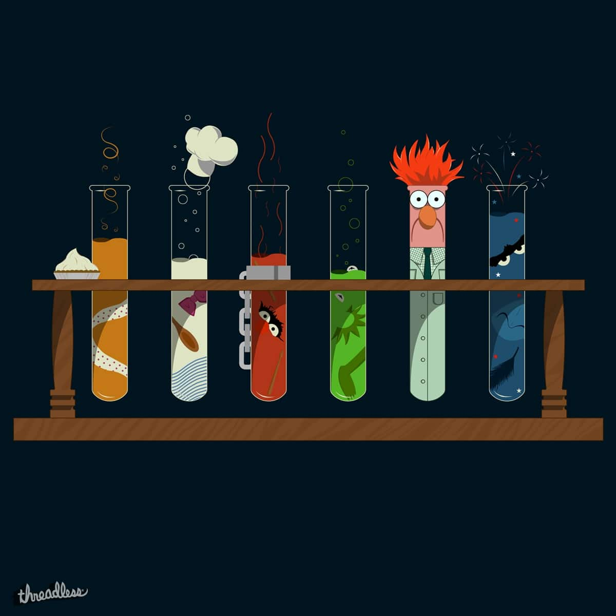 Muppet Science by DeepSpaceTris on Threadless