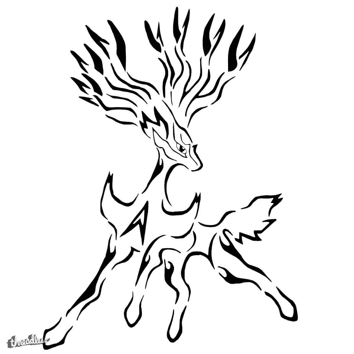 Pokemon Coloring Pages Xerneas : Dessin pokemon xerneas images