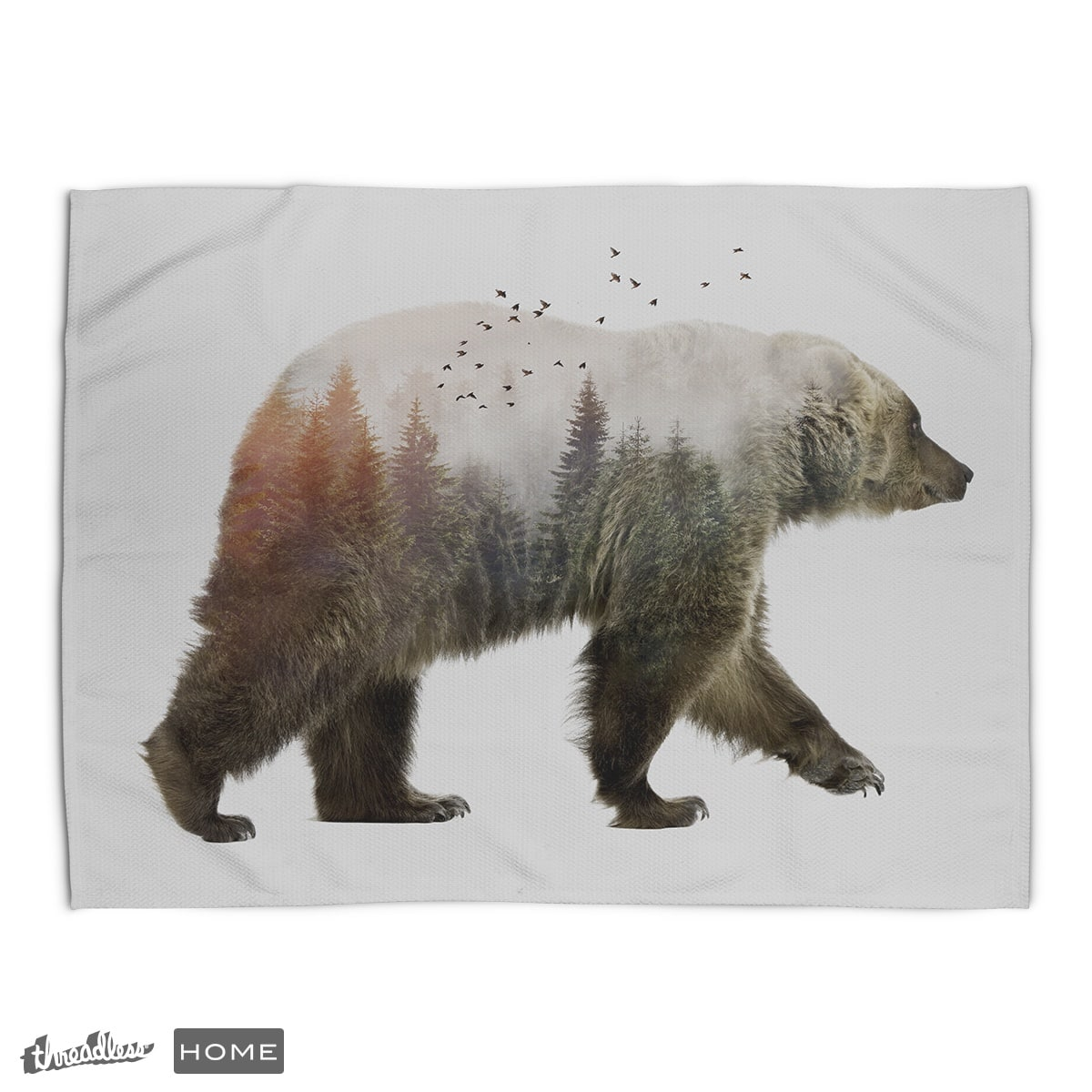 Bear by Sokolselmani on Threadless