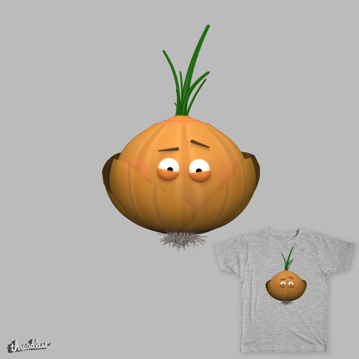 Mr. Onion by Iewukas on Threadless