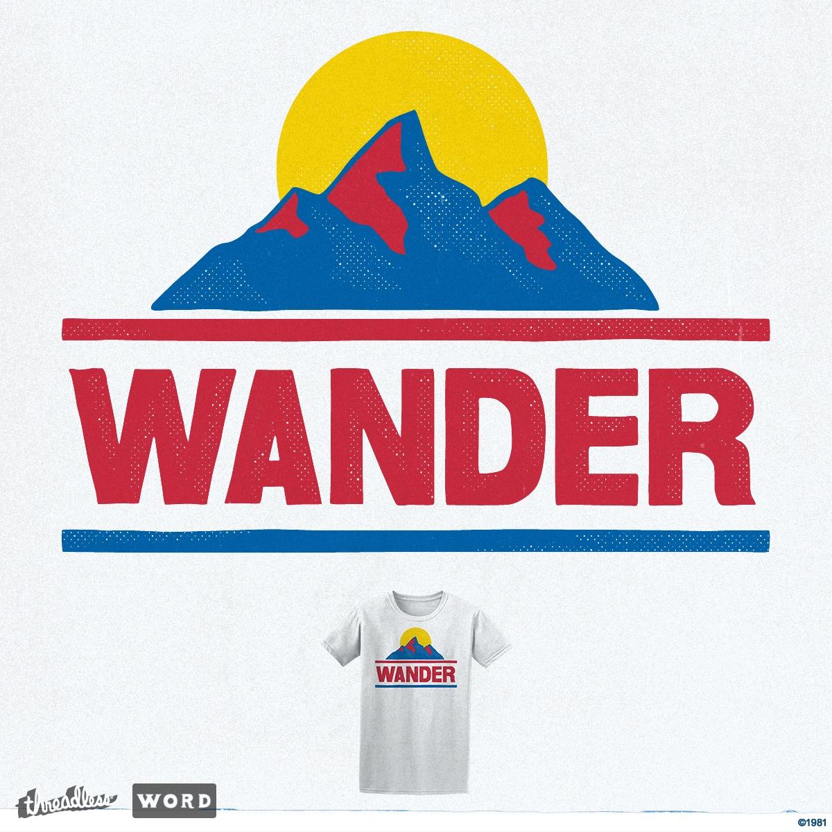 Wander by arzie13 on Threadless