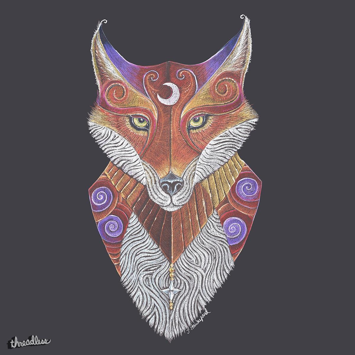 Fox Totem by jezhawk on Threadless