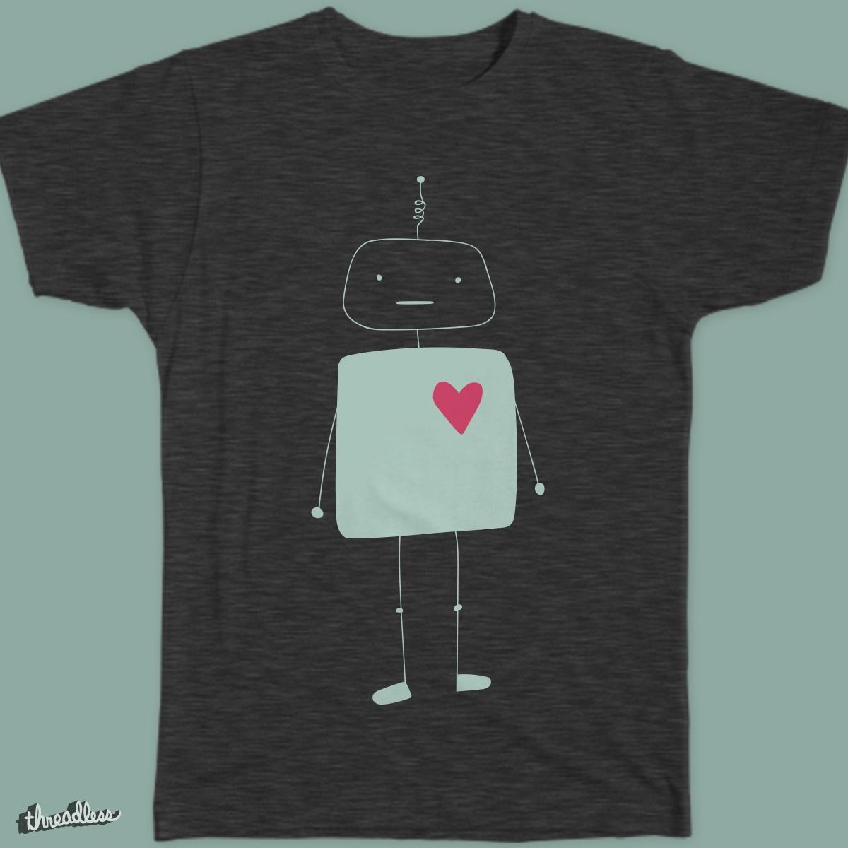 Robot Love by ErikaPSimonds on Threadless