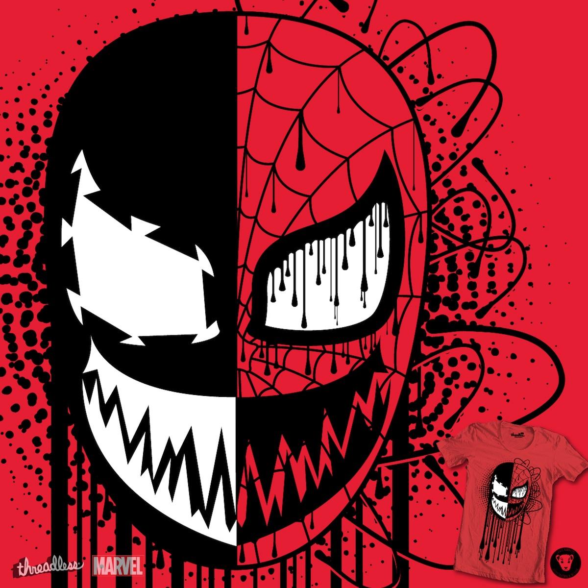 Venom/Carnage  by NJ Orange-Man on Threadless