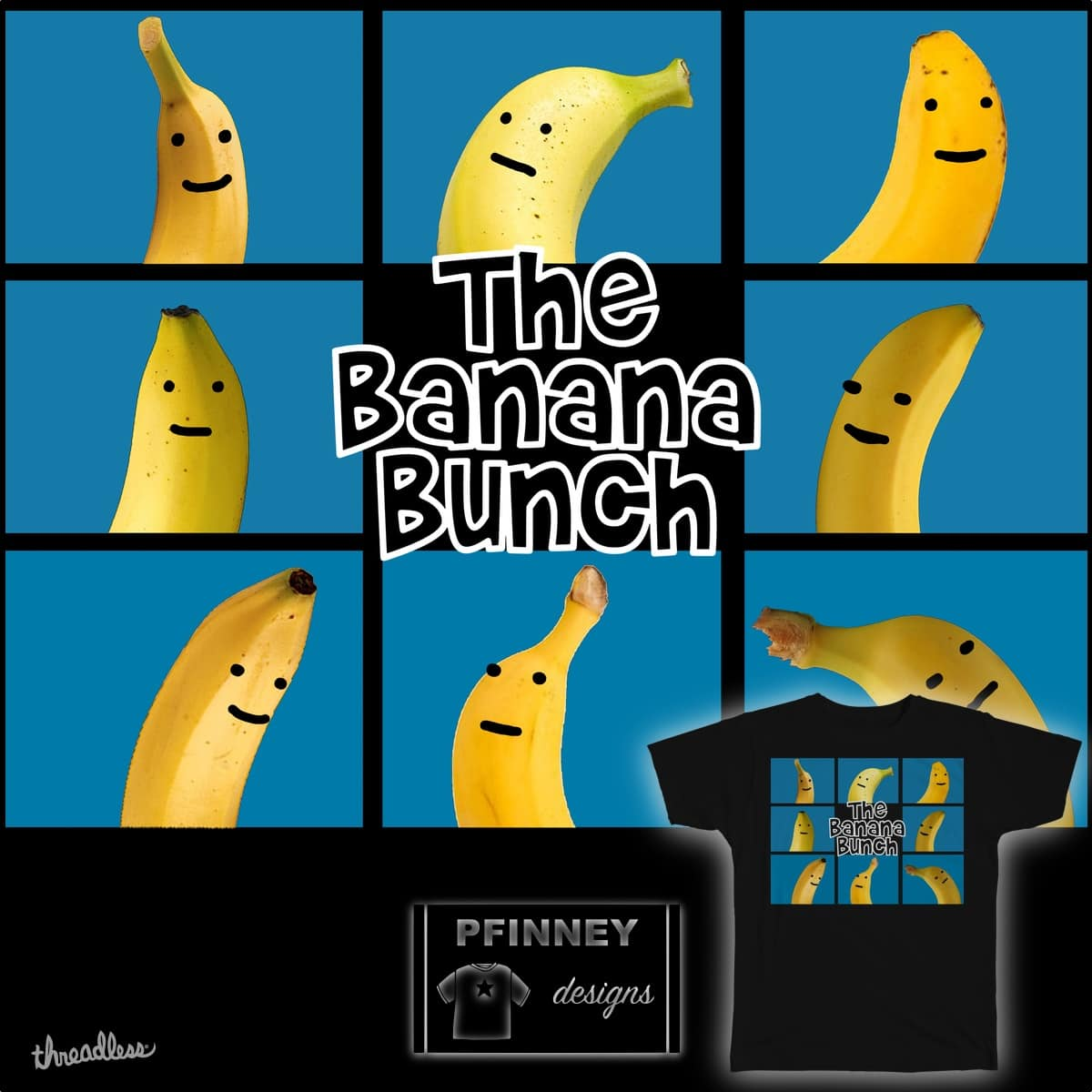 The Banana Bunch by PFinney on Threadless