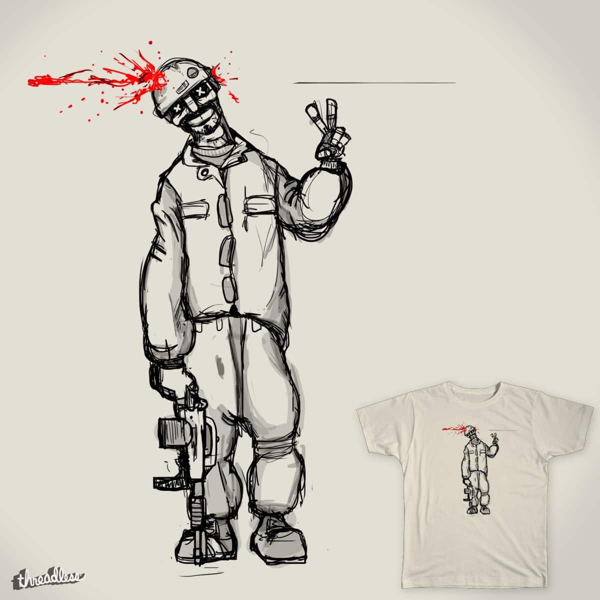 Peace Out by BirgerBurger on Threadless