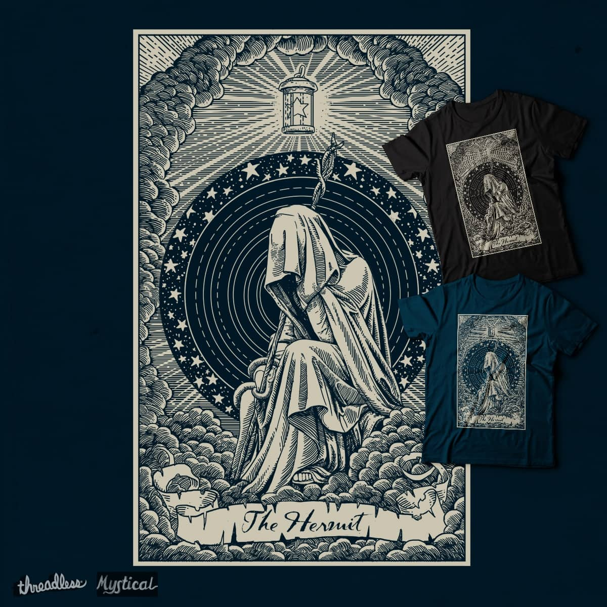 The Hermit by artkillo on Threadless