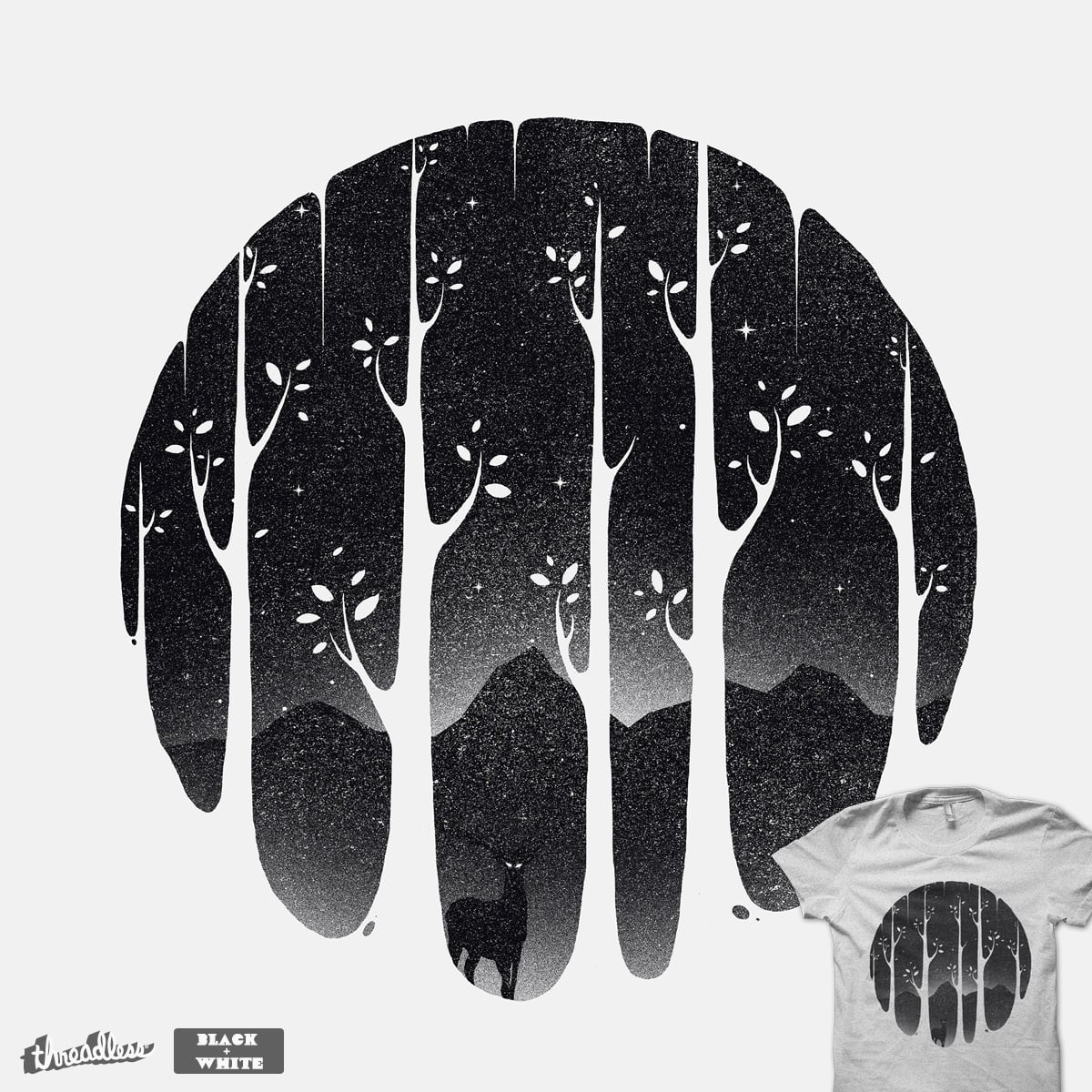 Mistiness, a cool t-shirt by robsonborges on Threadless