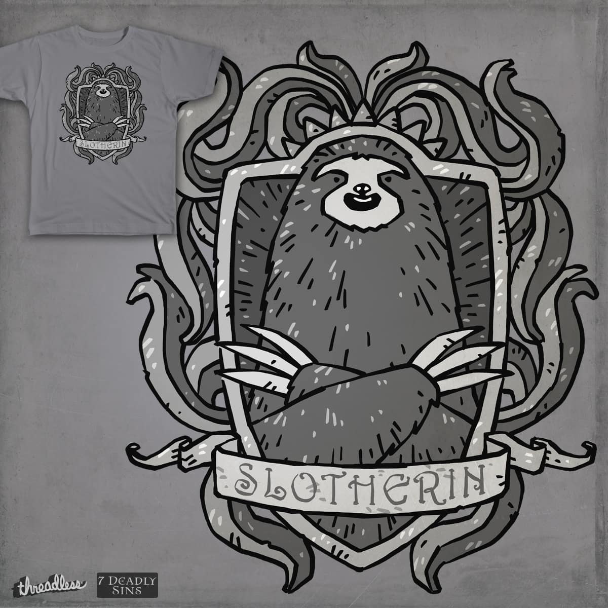 Slotherin by freehand on Threadless