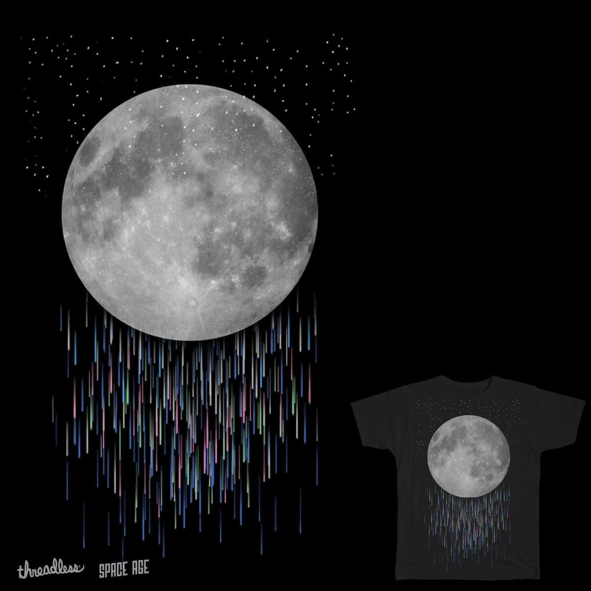 ночь дождь луна картинки яда растения