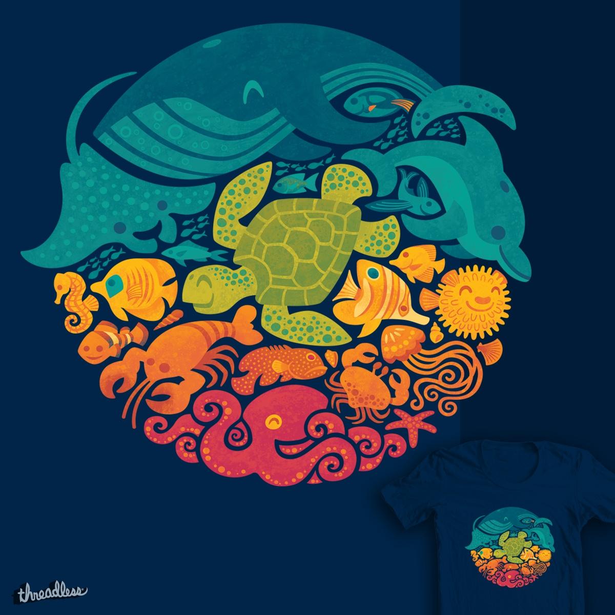 Aquatic Rainbow by waynem on Threadless