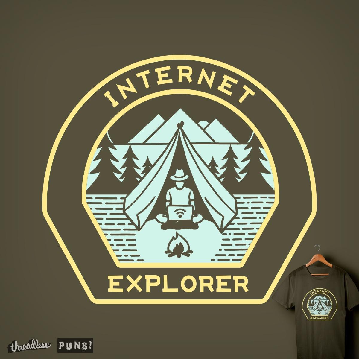 INTERNET EXPLORER by yortsiraulo on Threadless