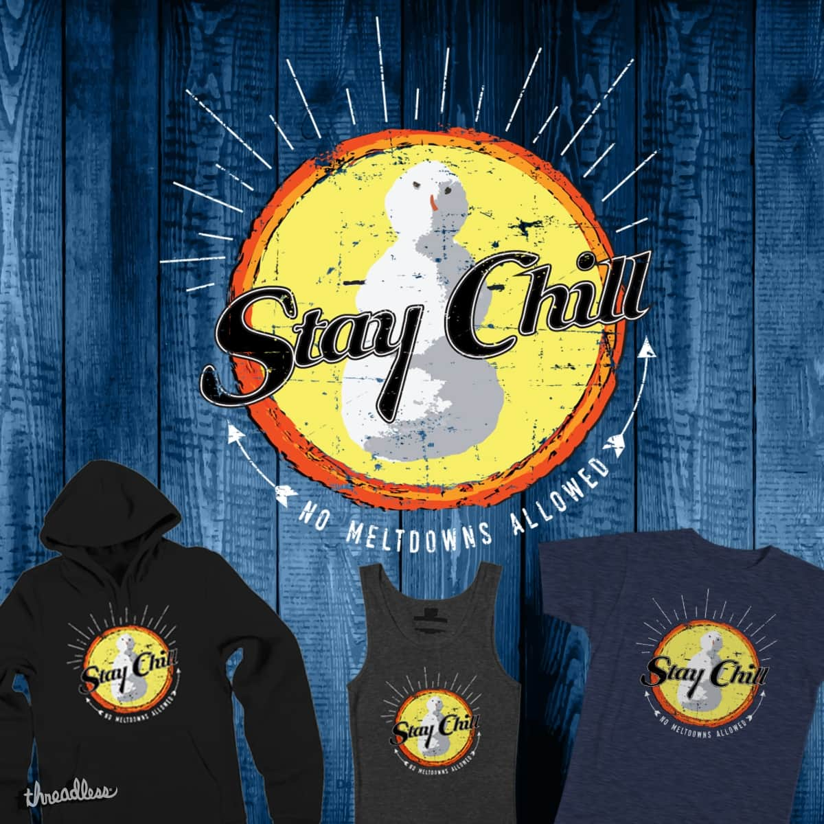Stay Chill by MidnightMoon on Threadless
