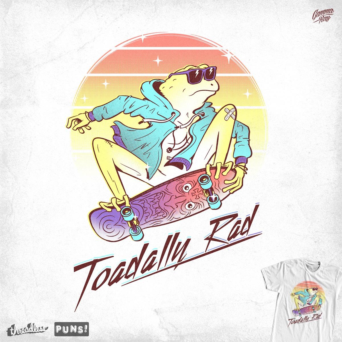 Toadally Rad by Gamma-Ray on Threadless