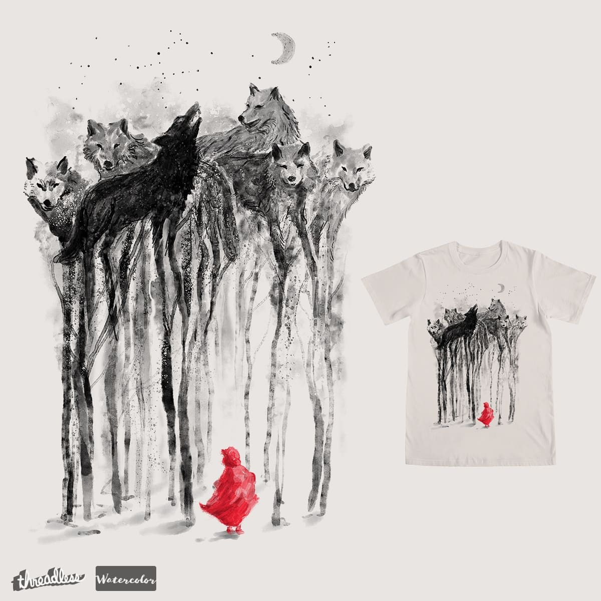 Into the Woods by 38Sunsets on Threadless