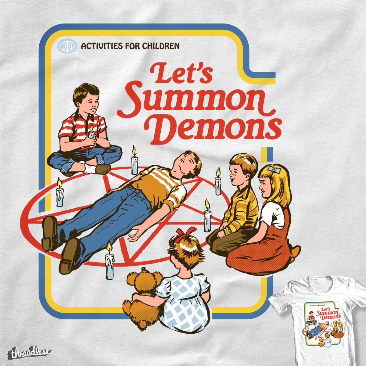Let's Summon Demons by blue sparrow on Threadless