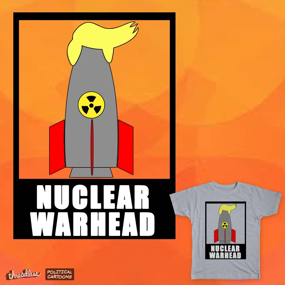 Nuclear WarHead by asor77 on Threadless