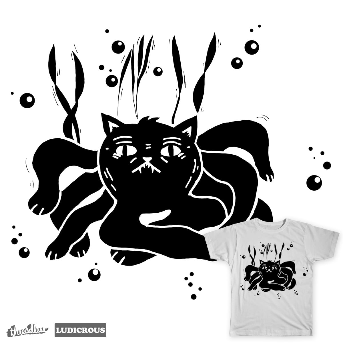 Cordel Catopus by siyi on Threadless