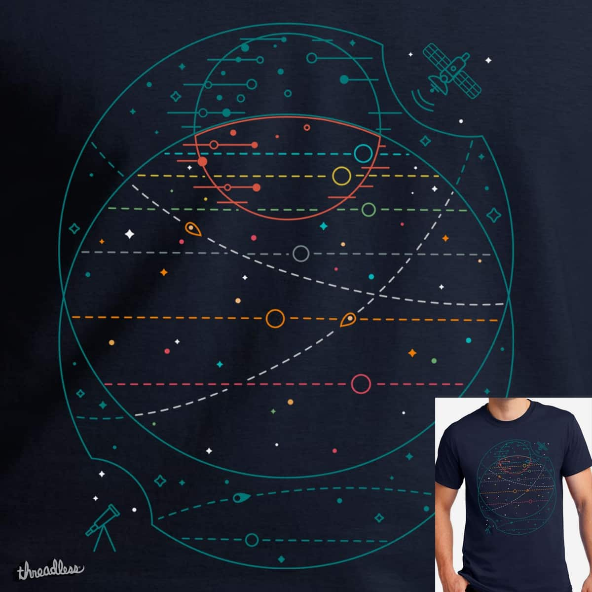 Trappist 1 by clsantos82 on Threadless