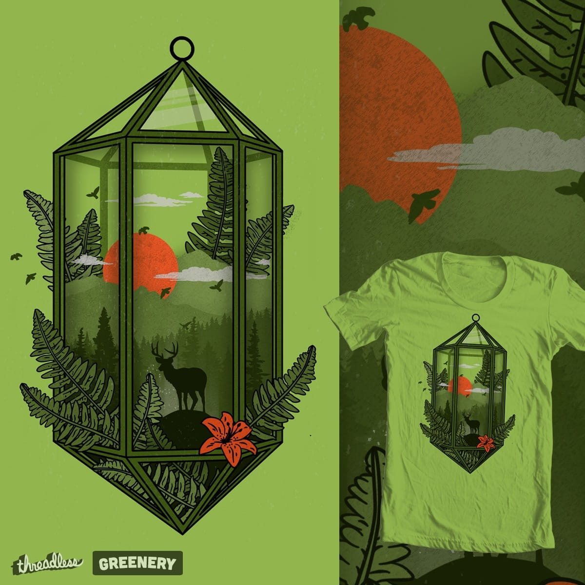Terrarium par thechild sur Threadless