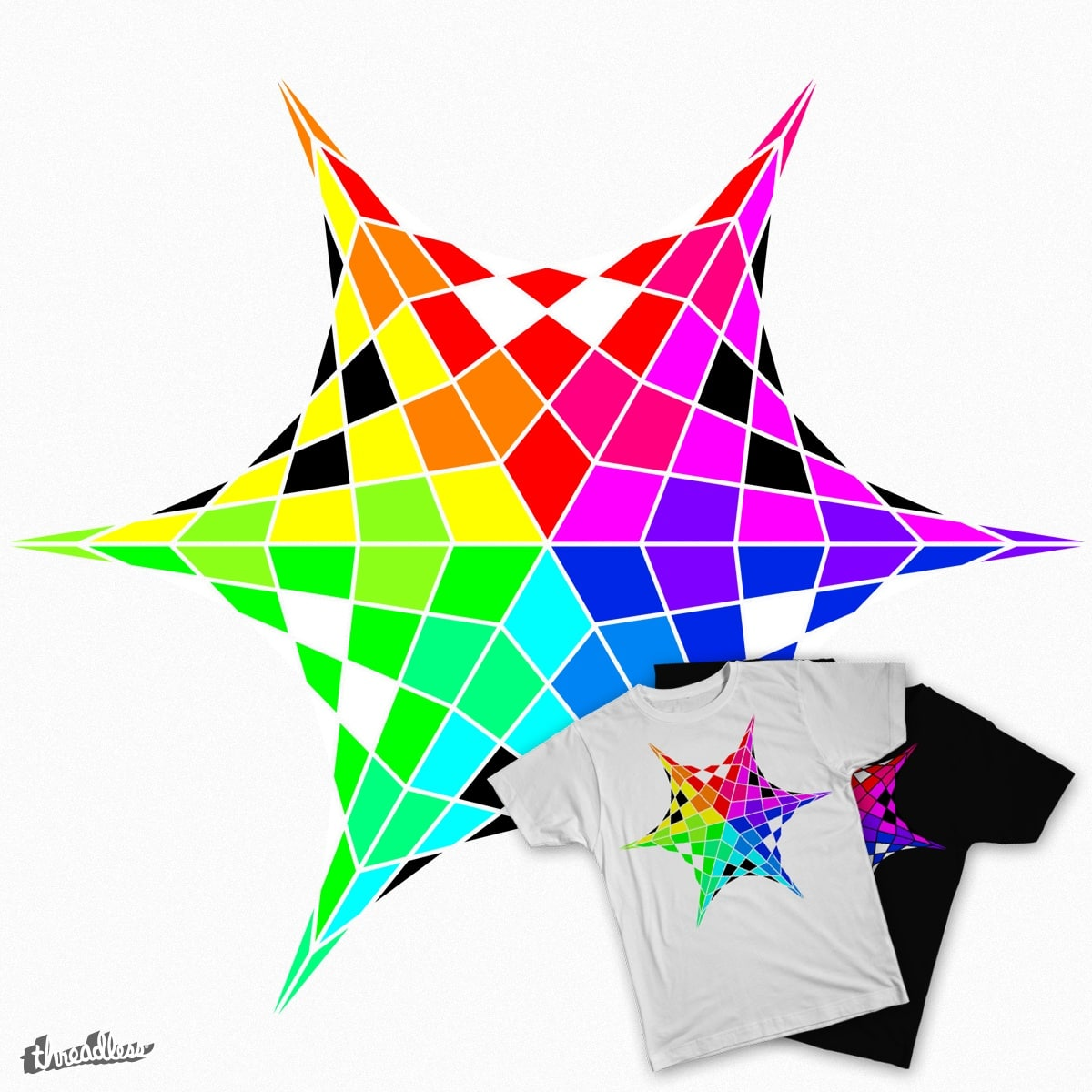 Score Color Wheel Star By Eriklectric On Threadless