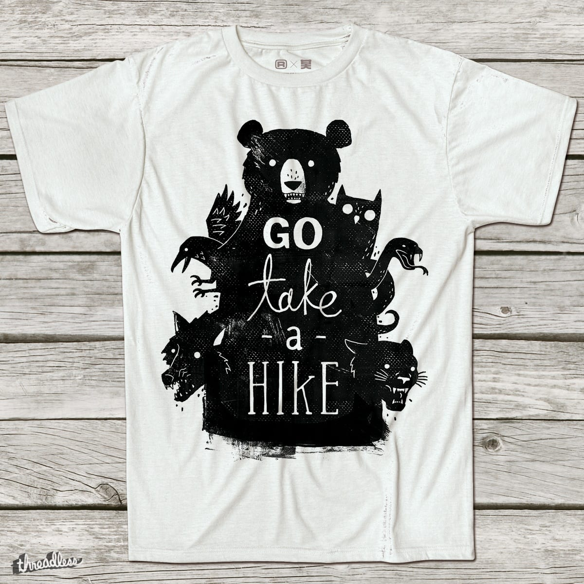 Go Take A Hike by DinoMike on Threadless