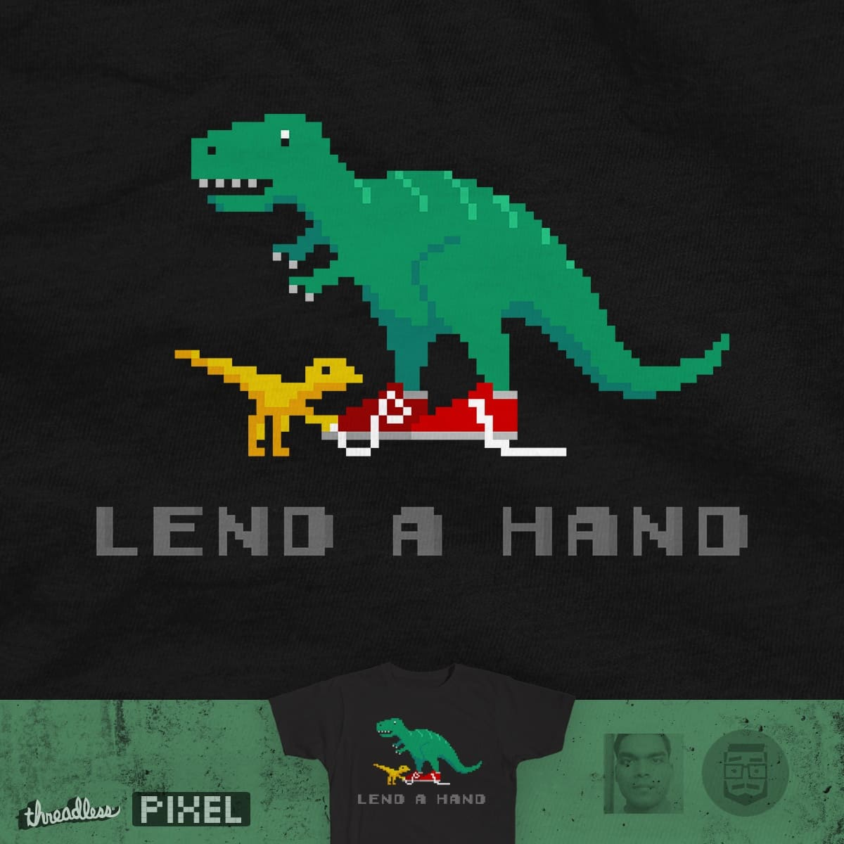 Lend A Hand by csweiler and Shadyjibes on Threadless