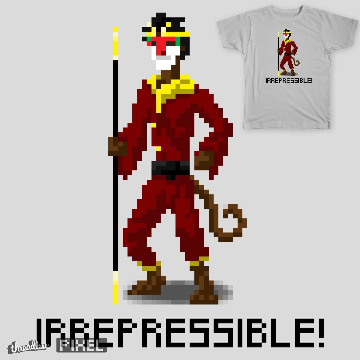 The Power of Monkey was.... by liatach on Threadless