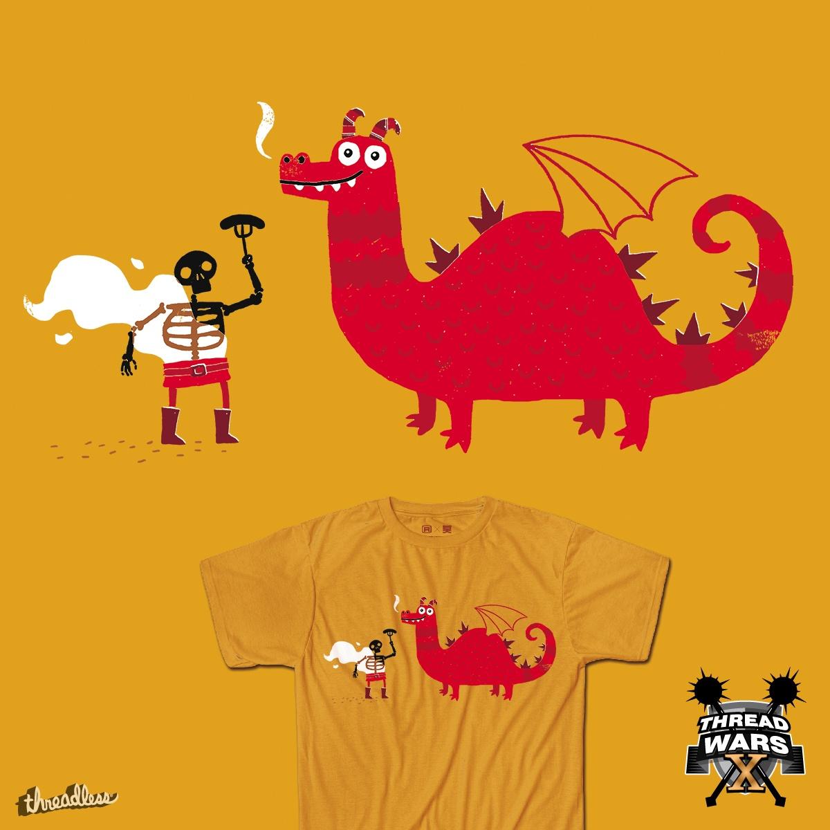 Score Dragon BBQ by DinoMike on Threadless