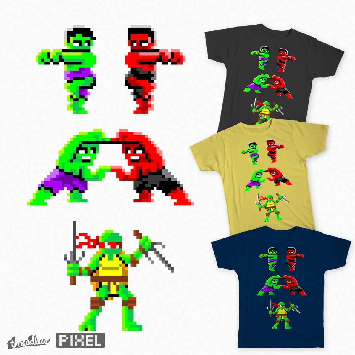 Two Hulks Don't Make a Raph by HahnShotFirst on Threadless