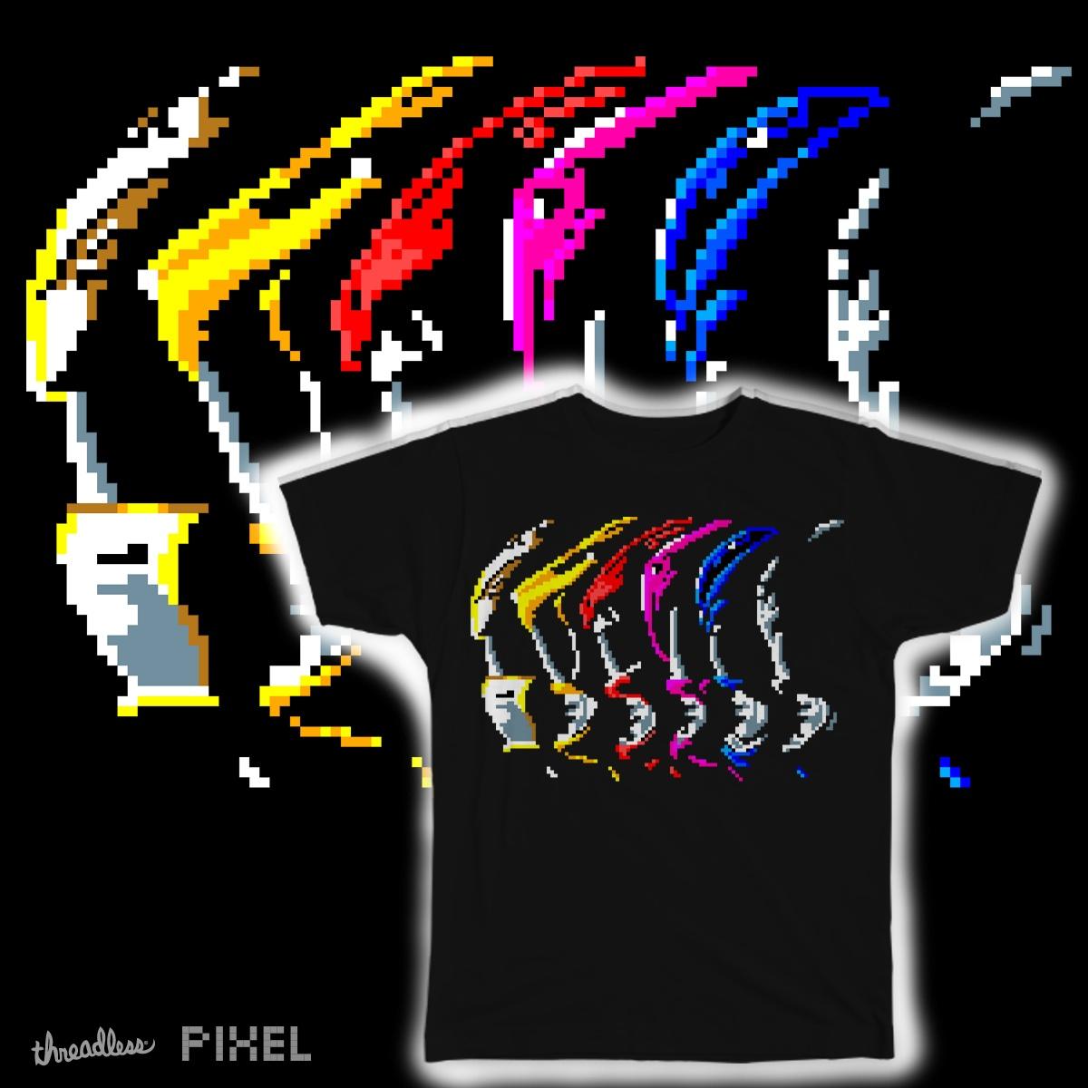 Pixel Rangers by HahnShotFirst on Threadless