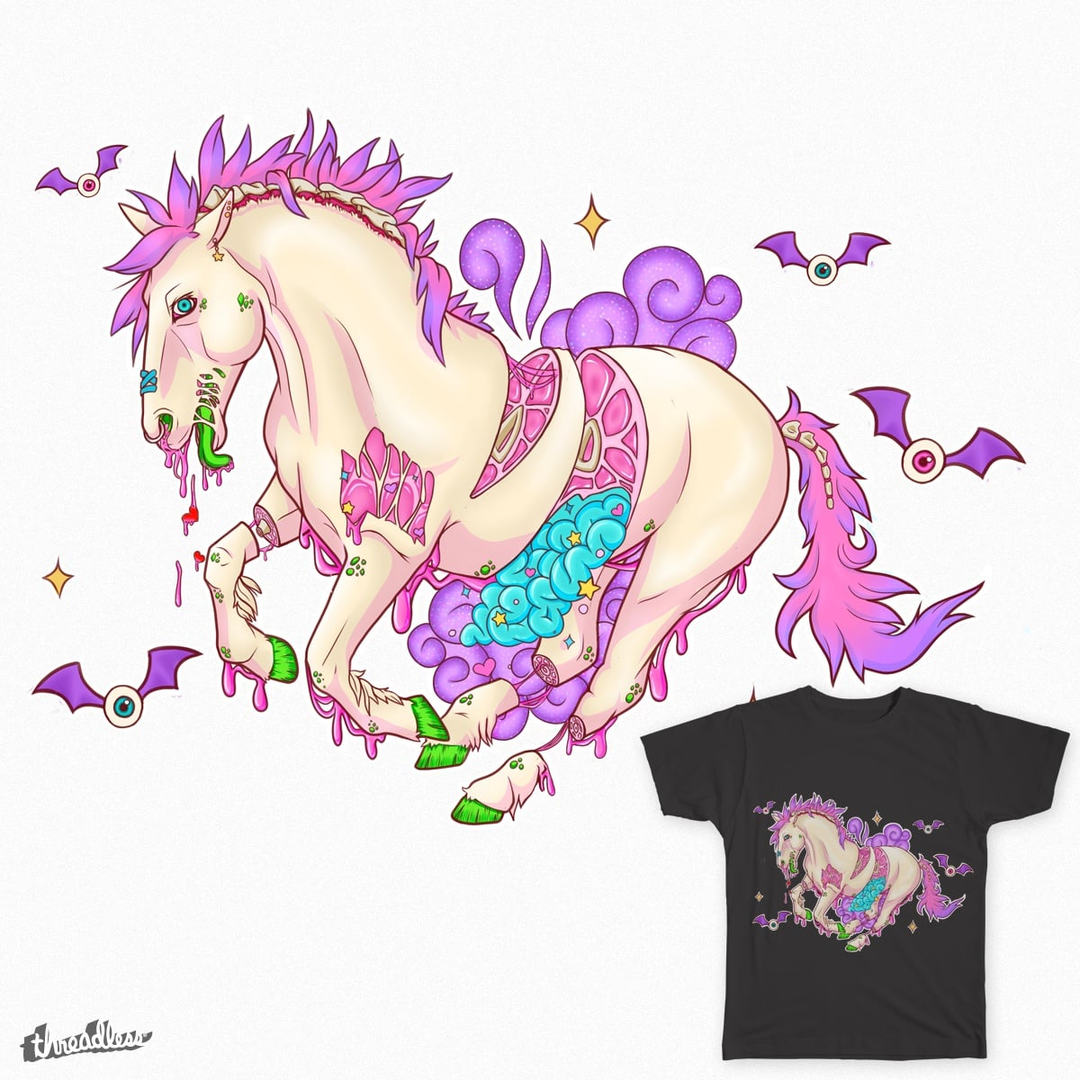 Score Candy Gore Horse By Sodapopcandy On Threadless Cheyenne さんのボード「candy gore」で、他にもたくさんのピンを見つけましょう。 deviantart is the world's largest online social community for artists and art enthusiasts, allowing people to. score candy gore horse by sodapopcandy