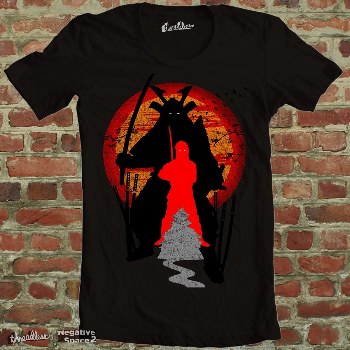 UNDER A BLOOD RED SKY by jrtoyman on Threadless