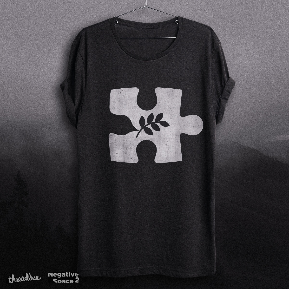 The Missing Peace by aparaat on Threadless