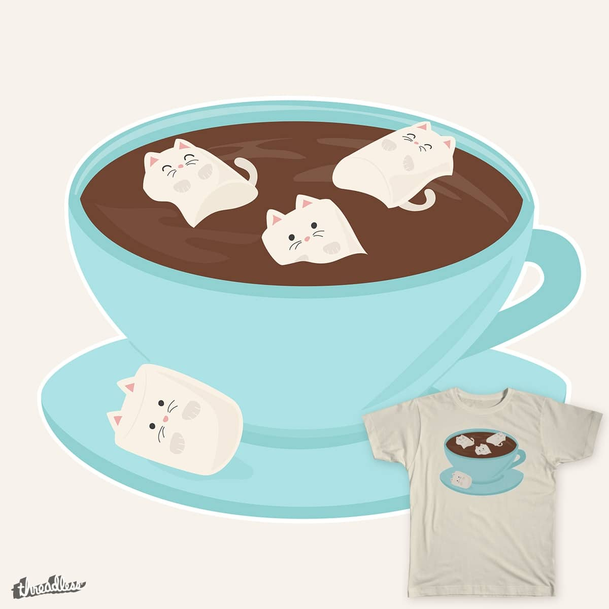 Marshmeowlows by sixhours on Threadless