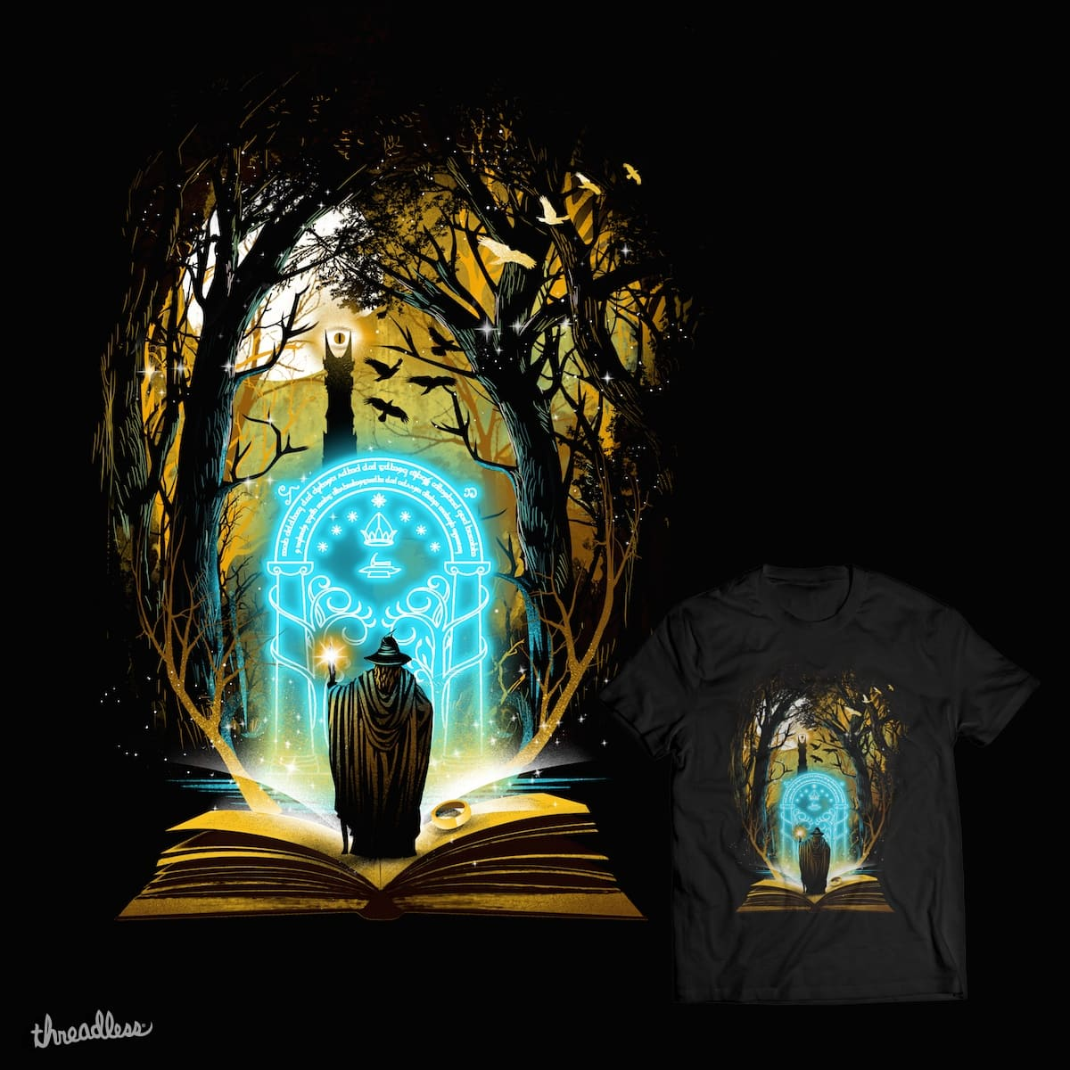 Book of Magic and Adventures by dandingeroz on Threadless