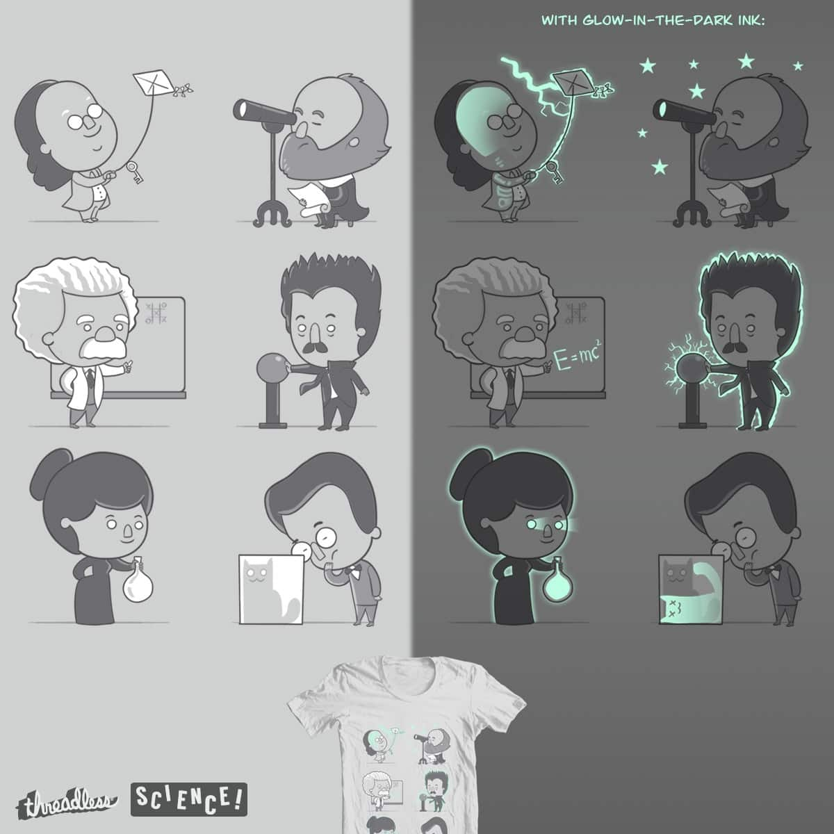 Score Good Times With Science by queenmob on Threadless