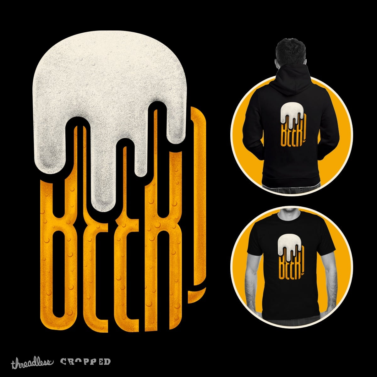BEER! by Cnatch on Threadless