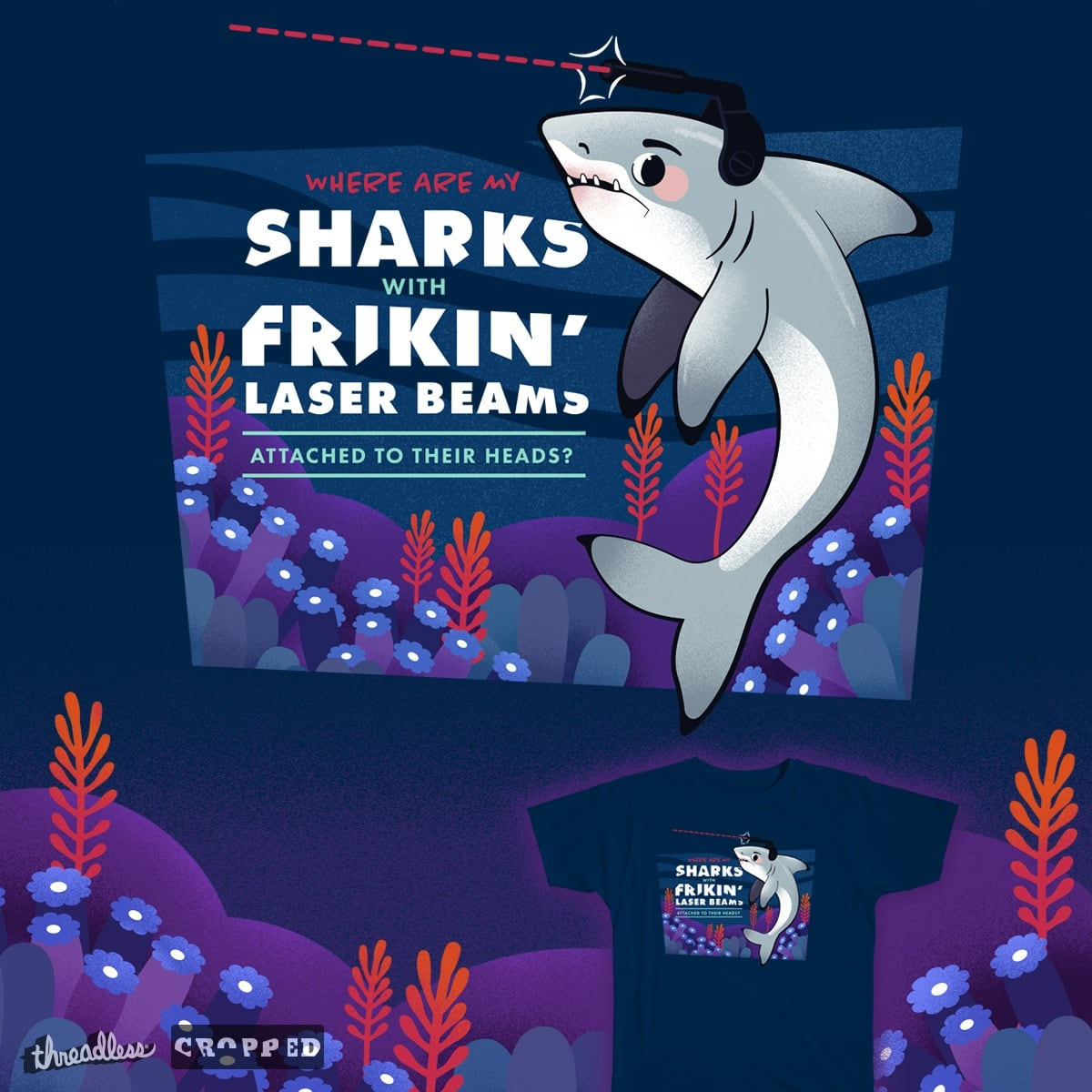 sharks with lasers on their heads 13978 infobit