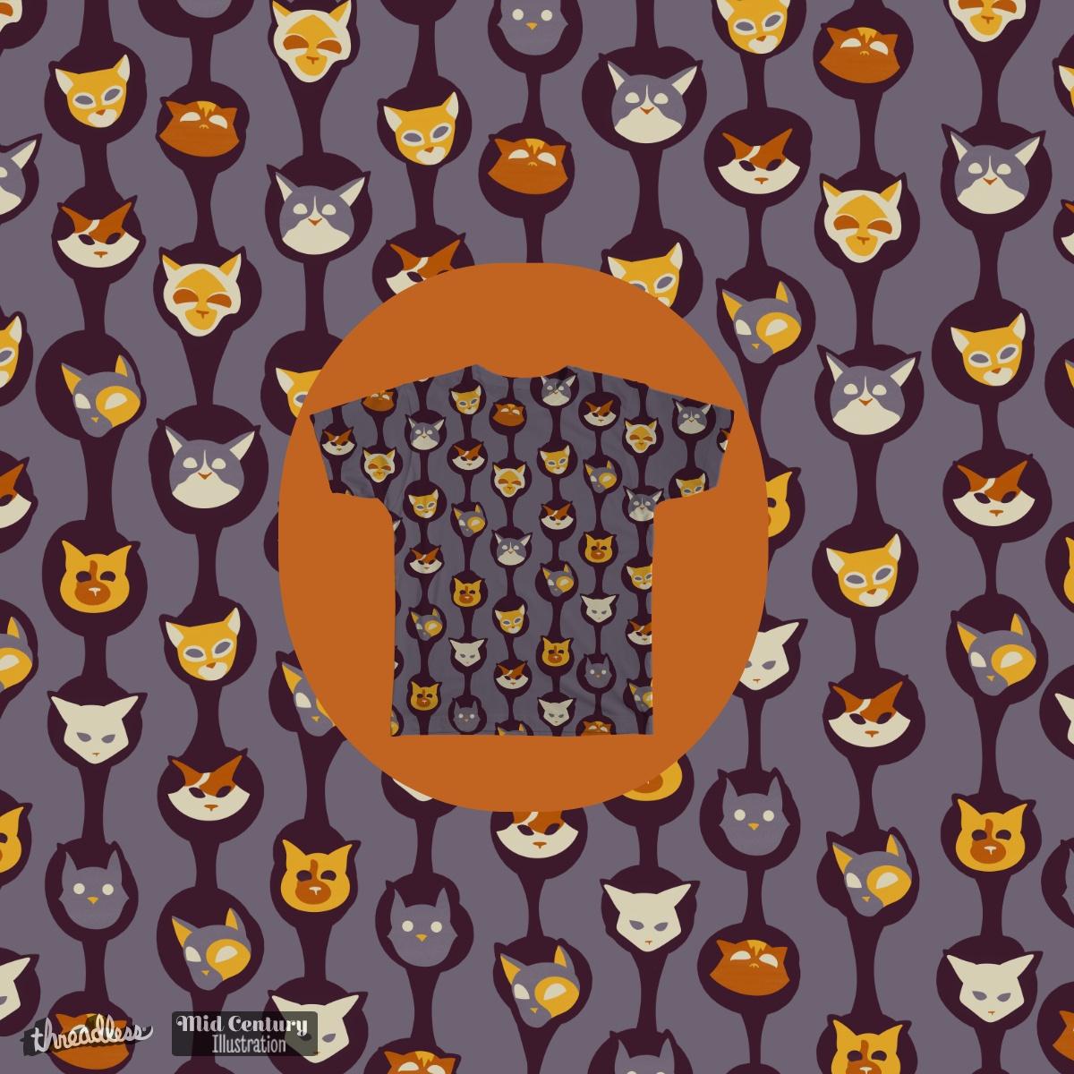 Cool Cats by WondrouStrange on Threadless