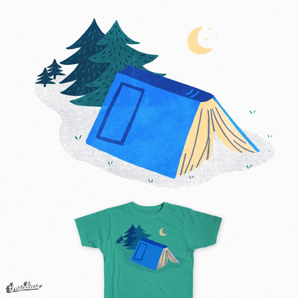 Book Camp by k_lukes on Threadless