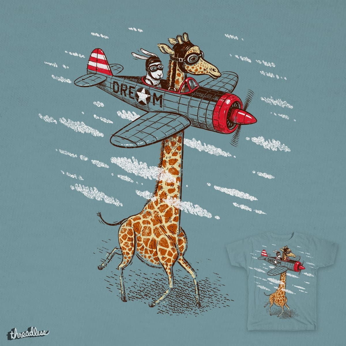 Let your dream fly by Steppeua on Threadless