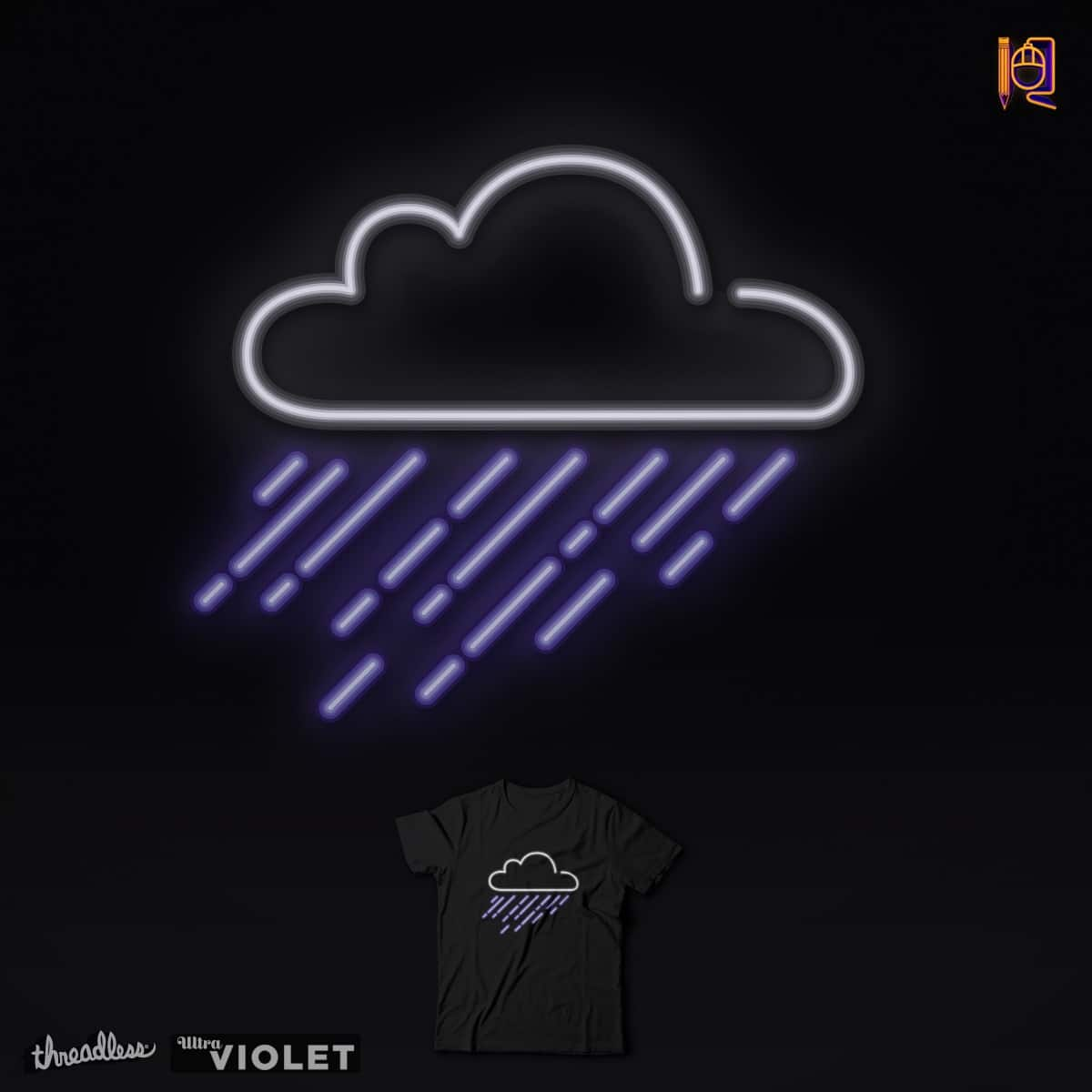 Purple rain by rodrigobhz on Threadless