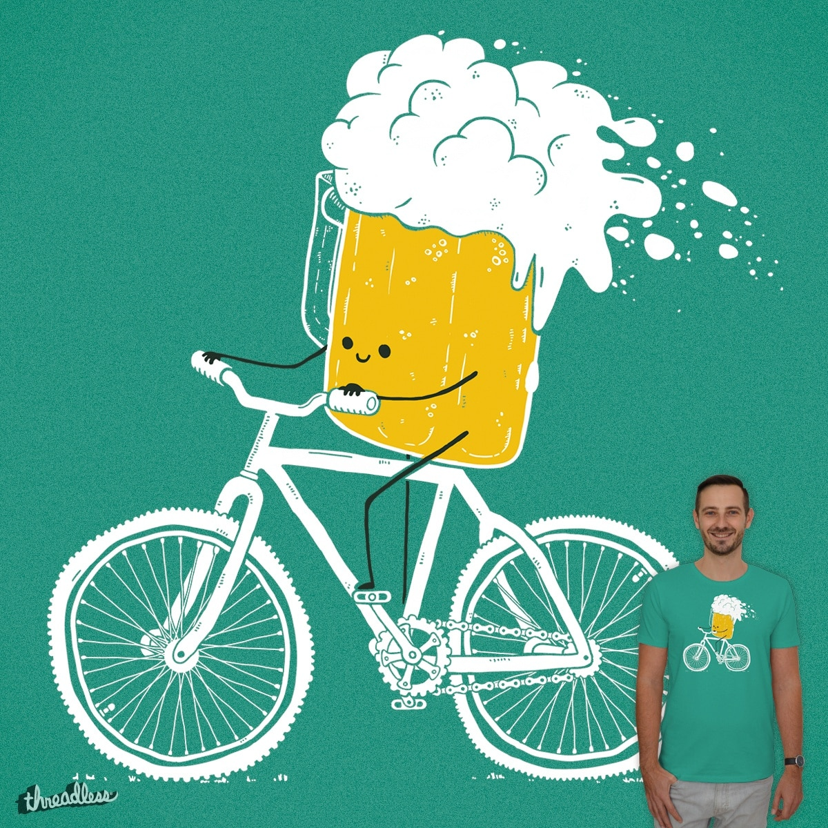 Tour de beer by Mishan D on Threadless