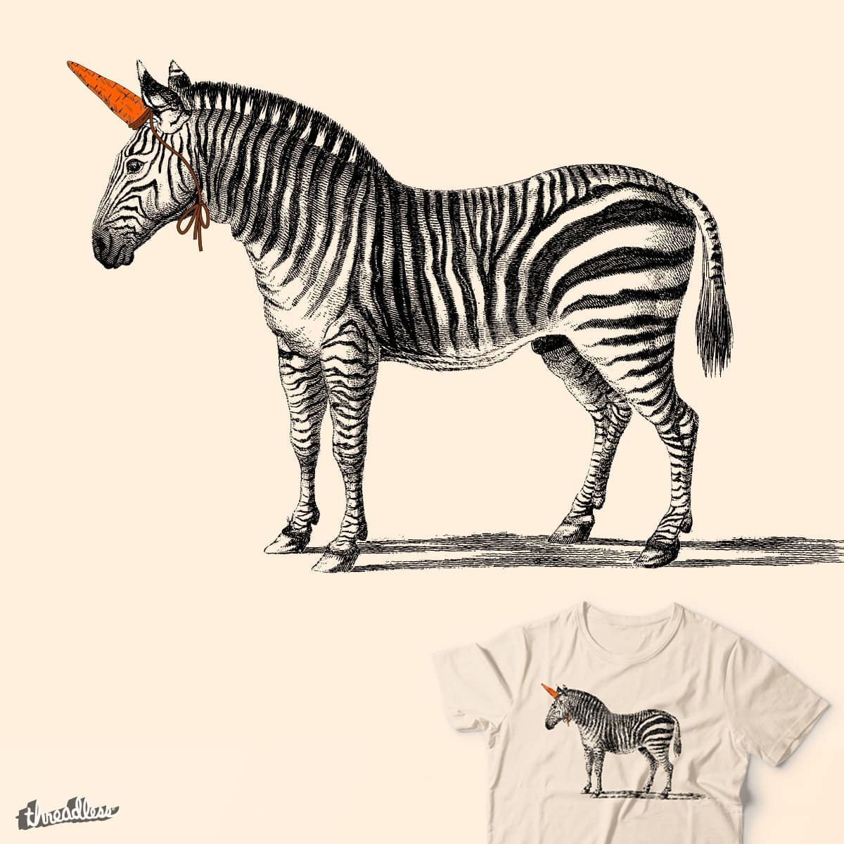 score unic horn by neilwtf on threadless